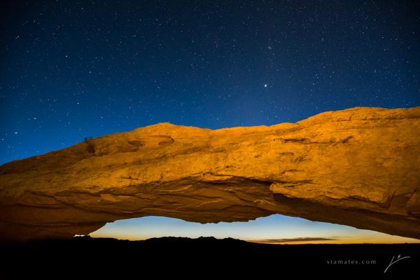 23 - Mesa Arch Light Paint